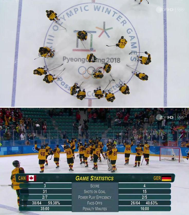 Olympia 2018: Germany BEATS Canada in SEMIFINALS!!!