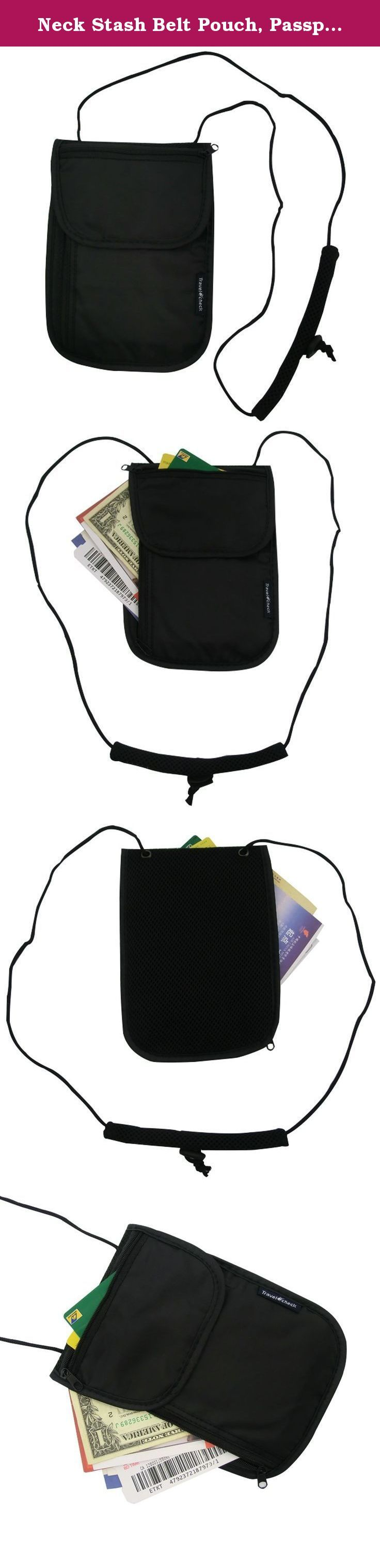 Neck Stash Belt Pouch, Passport Holder RFID Safety , Hidden Travel Wallet , Travel Zipper Pockets for Passports, Documents, Credit Cards & Cash + E-Station Car Glasses Visor Ticket Clip Holder (Black). Product Description Travel in style and keep all of your travel documents safe, organized and secure in the passport cover. This simple passport bag is the best choice for travel. Measures: 20cm x 14cm / 7.87 x 5.51 inches Weight: 30.8g/1.08oz Package Included: 1 x Possport Holder 1 x...
