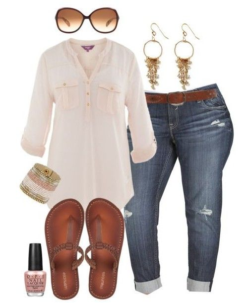 Cute plus size outfits for summer; or all year around when you live in Florida!