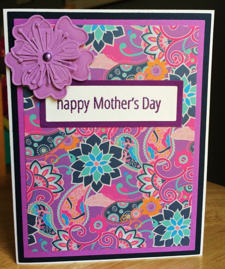 150 best cards that i make images on pinterest black for Classy mothers day cards