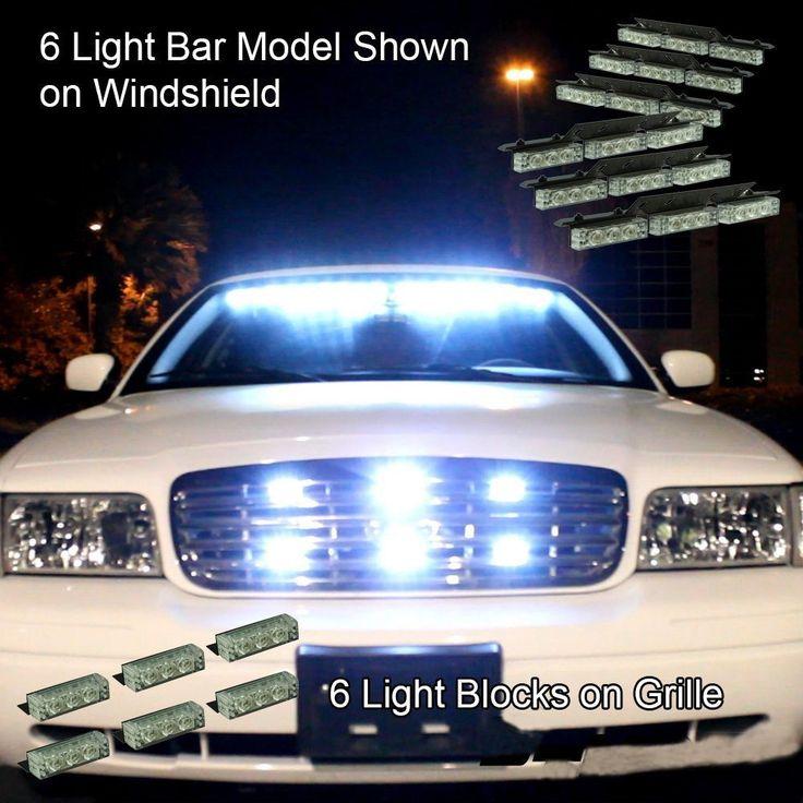 nilight 72 x ultra bright led emergency warning use flashing strobe lights bar for. Black Bedroom Furniture Sets. Home Design Ideas