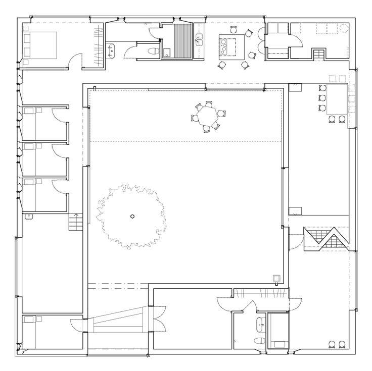 Best 25+ Atrium house ideas on Pinterest | Indoor courtyard, What ...