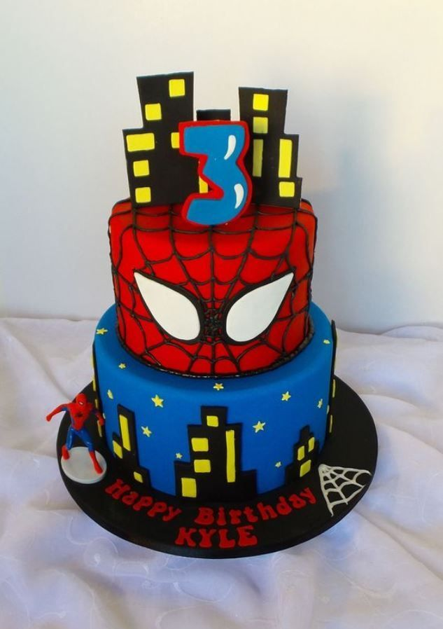 Ide Kue Ulang Tahun Anak Karakter Spiderman Ulang Tahun