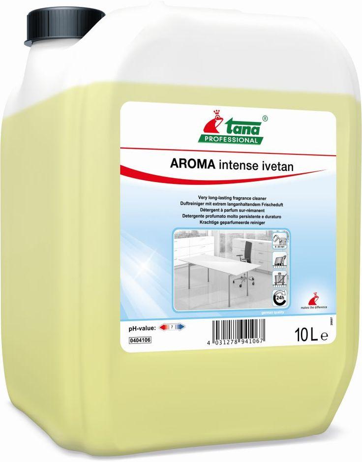 Solutie de curatare pardoseala Aroma Ivetan Intense TANA-2331 pentru monodisc sau manual, are miros proaspat intens si de durata.