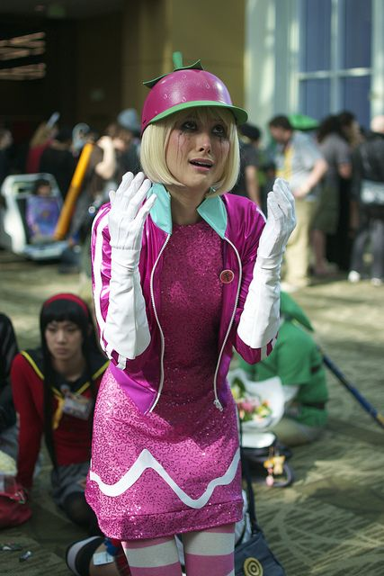 Wreck It Ralph's Taffyta Muttonfudge   Sakura Con 2013 #cosplay