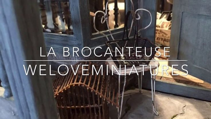 La Brocanteuse - Miniature antique shop