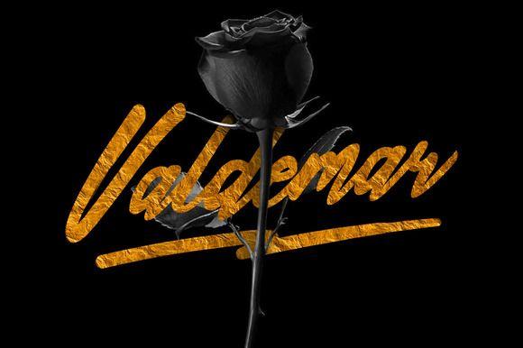 Valdemar Typeface + Bonus by Maulana Creative on Creative Market