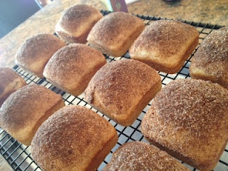 Mini Cinnamon Sugar Loaves ~ I bet nearly everyone has every ingredient on hand, so get bakin'!