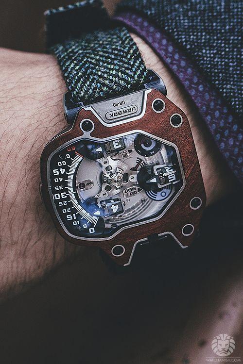 Beauty of a watch found on Wantfolio. I want it.