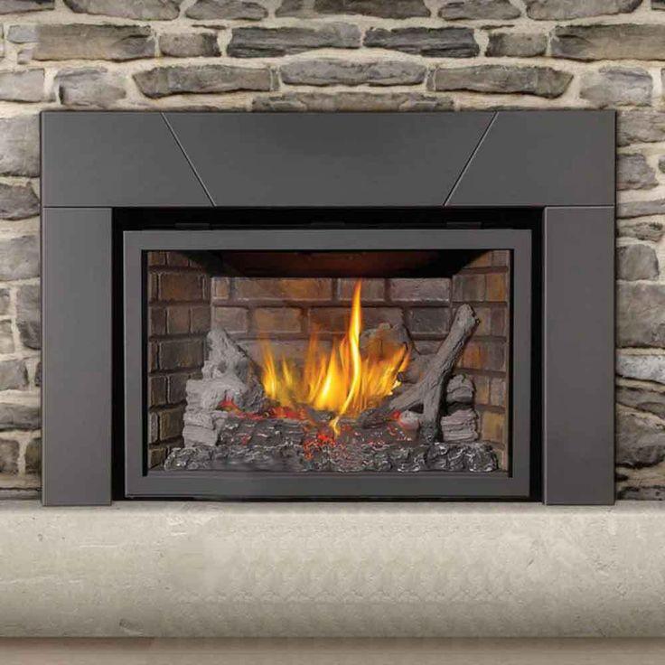 Best 25 Gas Fireplace Inserts Ideas On Pinterest Gas Fireplace Fireplaces And Modern Gas