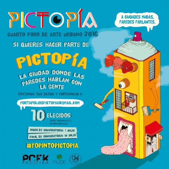 ¿Quierés hacer parte del festival Pictopía 2016?