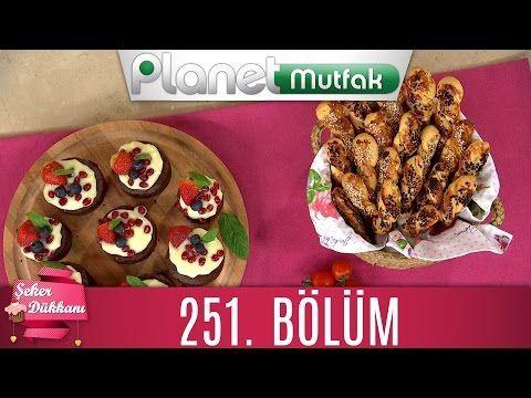 Şeker Dükkanı 251. Bölüm MUZLU BROWNIE PIZZA - PASTANE KURABİYESİ - YouTube