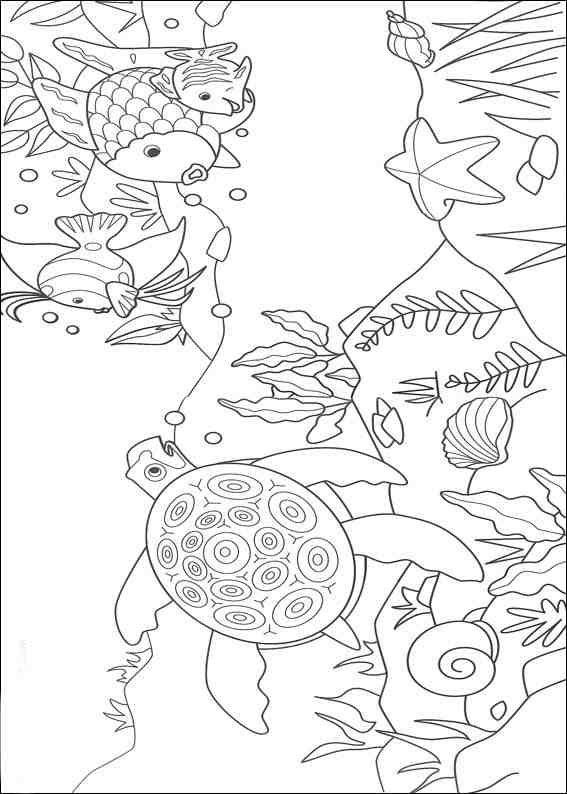 Desenhos Para Pintar Natureza72 Regenbogen Fisch Buch Wenn Du Mal Buch Regenbogenfisch