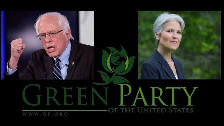 Bernie Sanders Should Team With Jill Stein and Run Green Party Instead of Endorsing Hillary Clinton. Hell YES!!! #BernieOrBust #JillBeforeHill #JillStein2016 #GreenParty https://www.youtube.com/watch?v=5U2b0LJUGlg