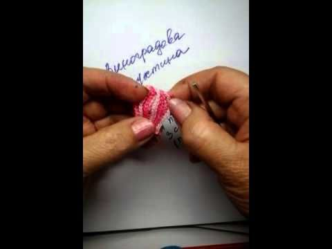 Мобильный LiveInternet Цветочные бутоны выполнены крючком - видео | Luyda52 - Дневник Lyuda52 |