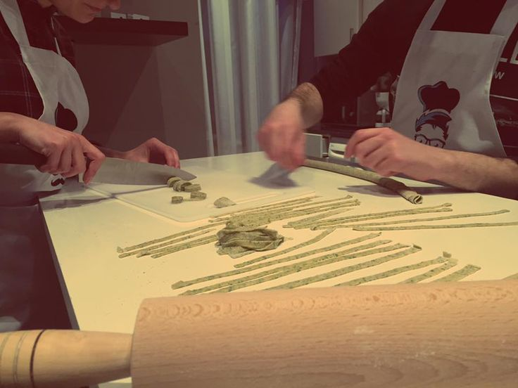 Making Tagliatelle at Personal Chef Armenia (Chef Margaryan) French Cuisine Homemade pasta