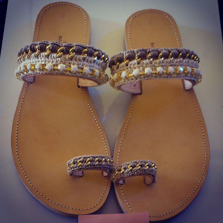 """Moca"" Handmade Sandals"