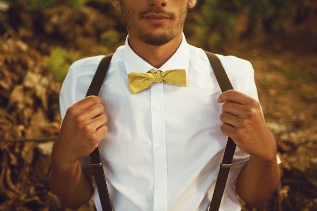 Inspiration déco mariage : en jaune et beige