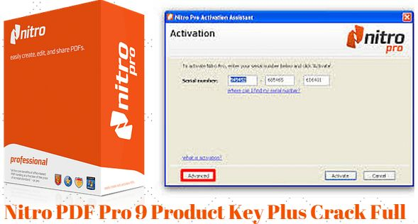 nitro pdf software serial key