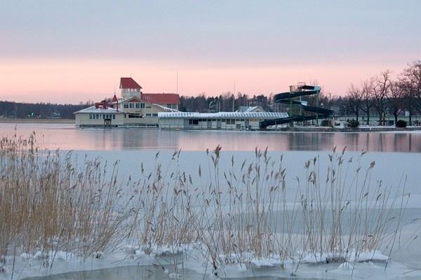 Knipan of Tammisaari, Finland, in winter.