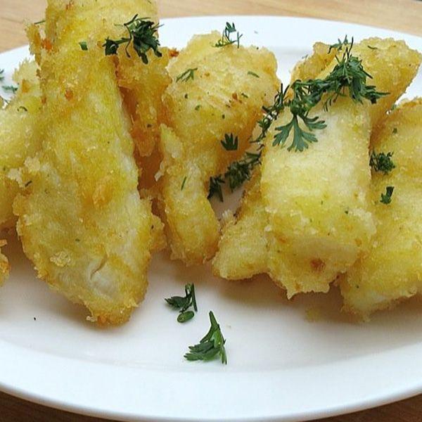 Baccalà in panko bread tempura al profumo di limone