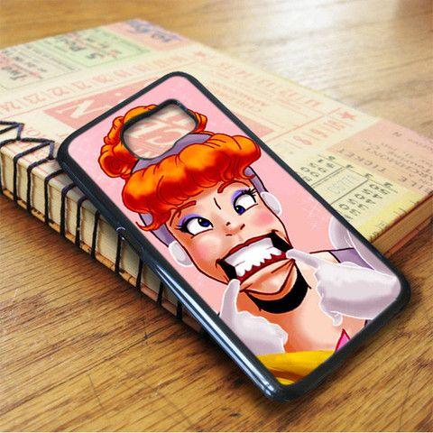 Crazy Princess Disney Art Samsung Galaxy S7 Case
