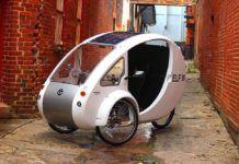 ELF, la Bicicleta eléctrica que funciona con energía solar