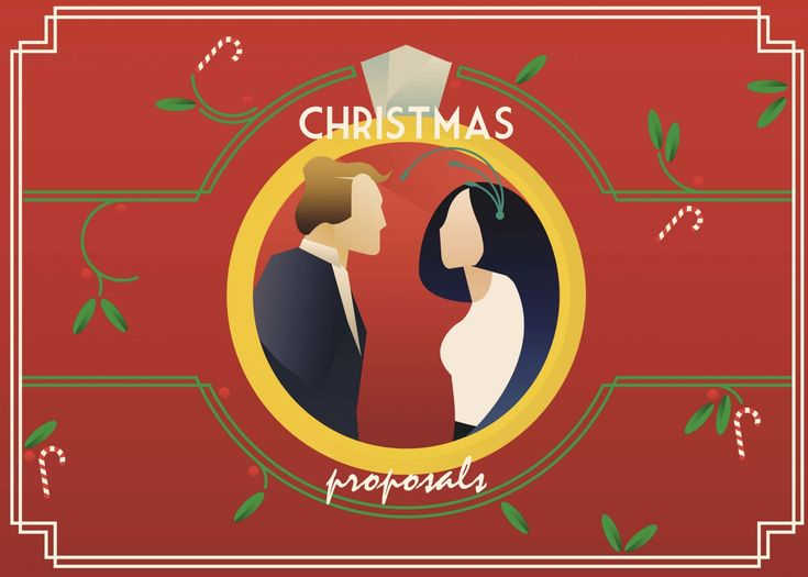 Ideas for getting engaged at Christmas