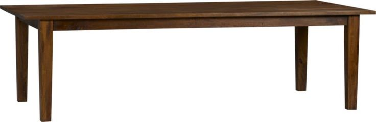 basque honey 104 dining table in dining tables crate and barrel