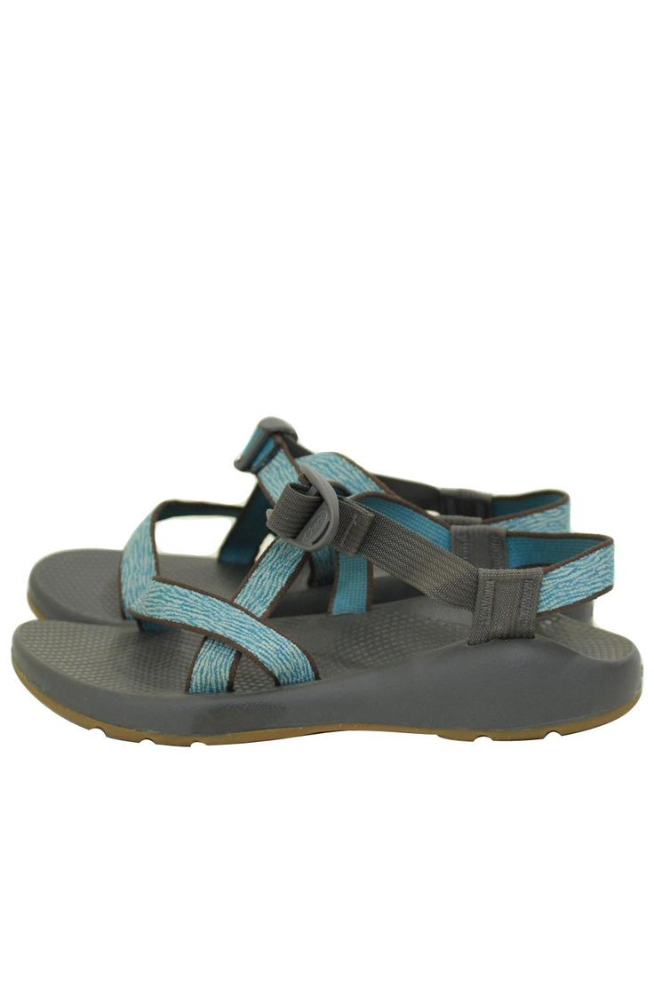 Chaco Z1 Vibram Zebra Aqua Sport Sandals Size 8