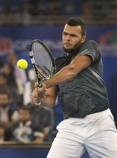 PARIS (AP) -- Still hampered by an injury to his right forearm, Jo-Wilfried Tsonga has pulled out of the Australian Open.