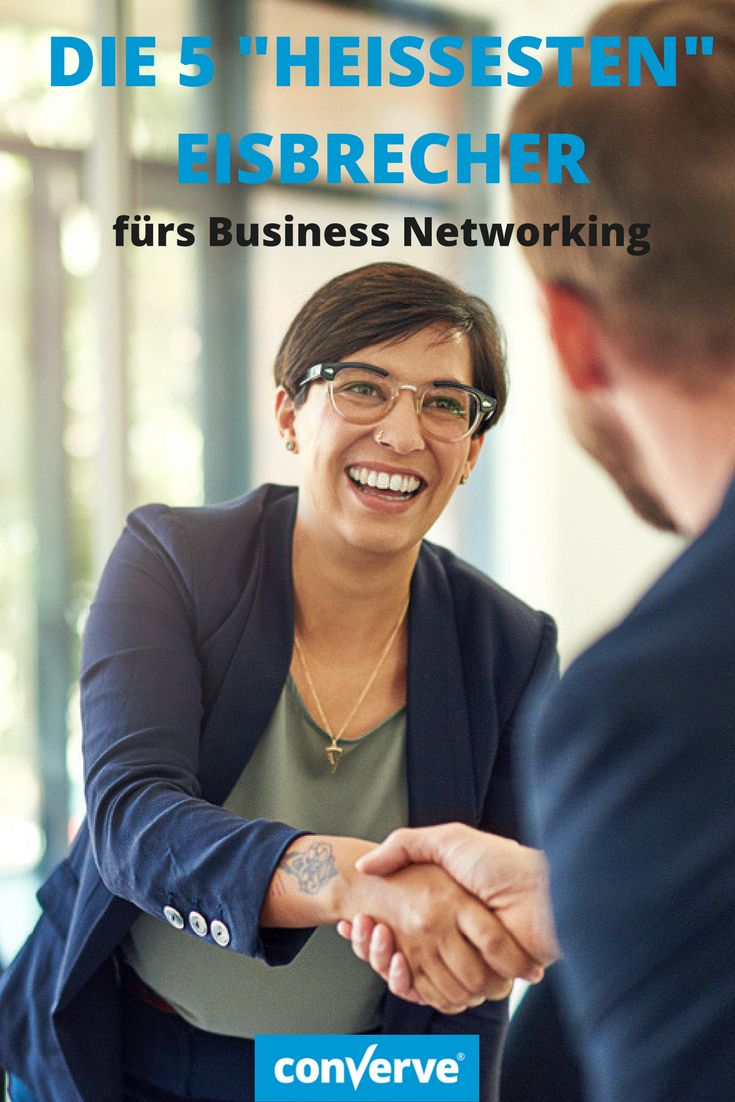 """Auf Messen und Kongressen geht es darum, neue Kontakte zu knüpfen und bestehende zu vertiefen. Vielen Menschen fällt das aber nicht leicht. Hier sind fünf """"heisse"""" Tipps zum Warmwerden! #businessnetworking #networking #tippsnetworking"""