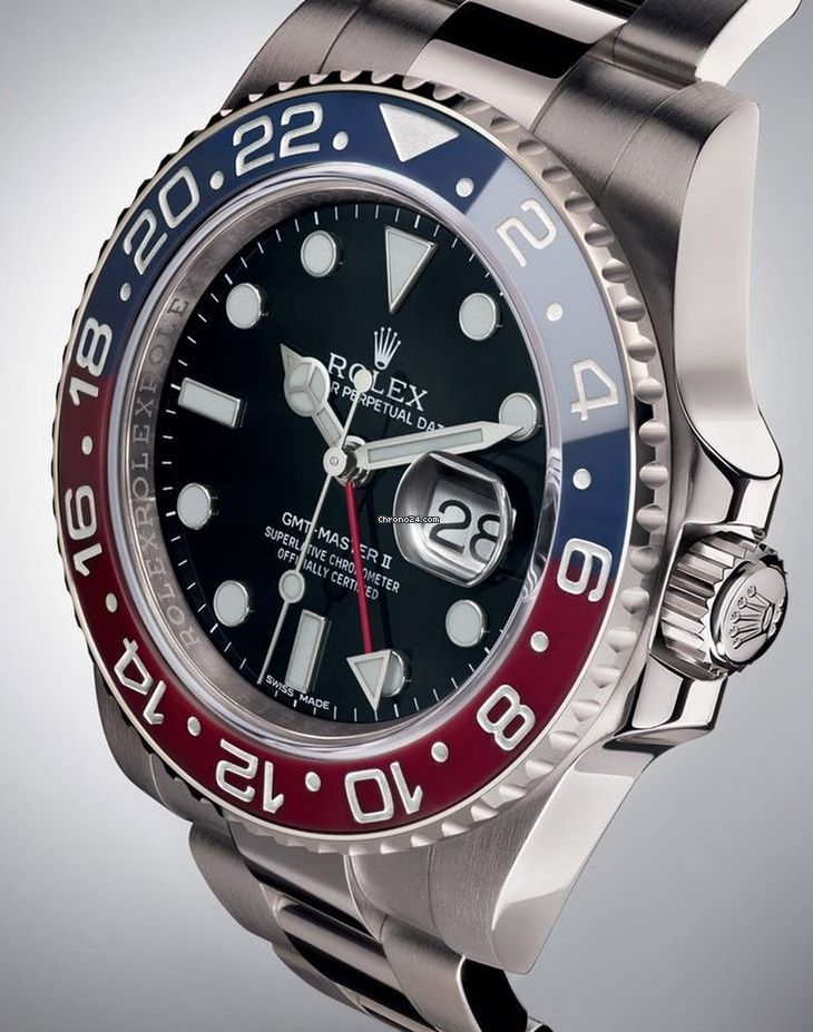 勞力士 (Rolex) [NEW] GMT-Master II 116719BLRO Pepsi Ceramic Bezel Watch (Retail:HK$297,900) ~ SPECIAL OFFER: HK$193,000.