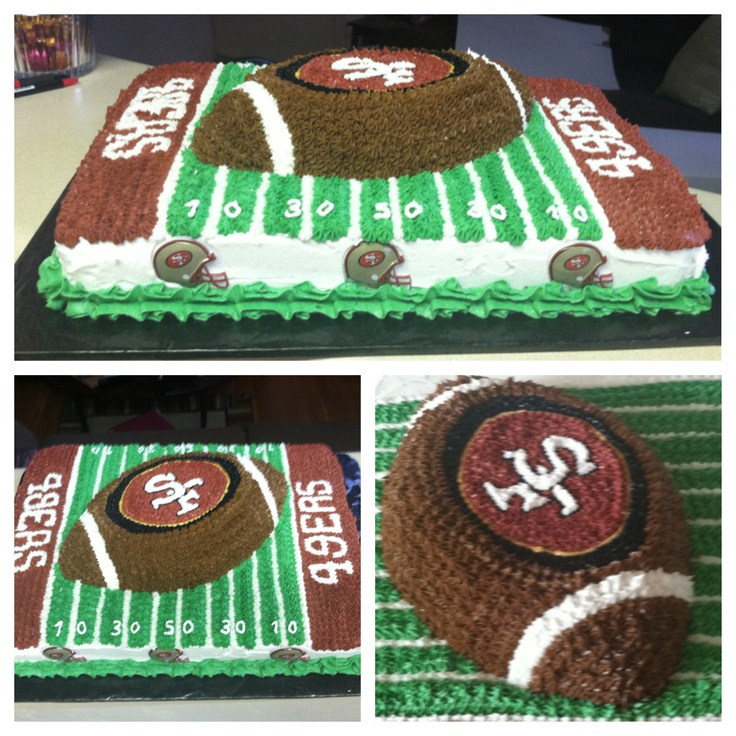 Best 25+ 49ers Cake Ideas On Pinterest