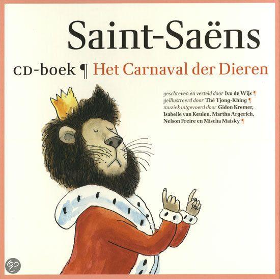 Het Carnaval Der Dieren.   Ivo de Wijs, winnaar van een Zilveren Griffel en de Kees Stip-prijs (voor zijn light verse), liet zich bij deze gedichten inspireren door 'Het Carnaval der Dieren' van Saint-Saëns. Hij draagt de gedichten zelf voor op de cd. De schitterende illustraties zijn van meervoudig Penseelwinnaar Thé Tjong-Khing, die in 2010 ook nog eens de Max Velthuijsprijs ontving. Speciaal voor deze grote uitgave hebben zij een aantal nieuwe teksten en illustraties gemaakt