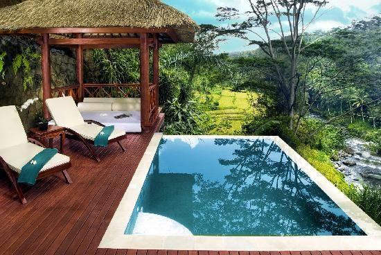 Where I will be staying in Bali! Kupu Kupu Barong Villas & Tree Spa (Ubud, Bali)