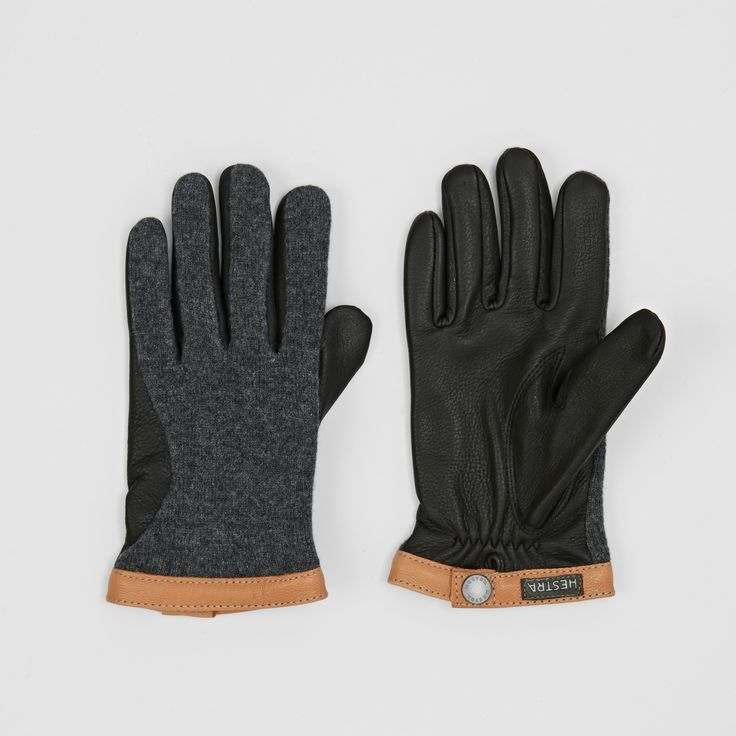 Hestra Deerskin Wool Tricot Gloves. Pin-To-Win your Christmas wish list at Surfdome!