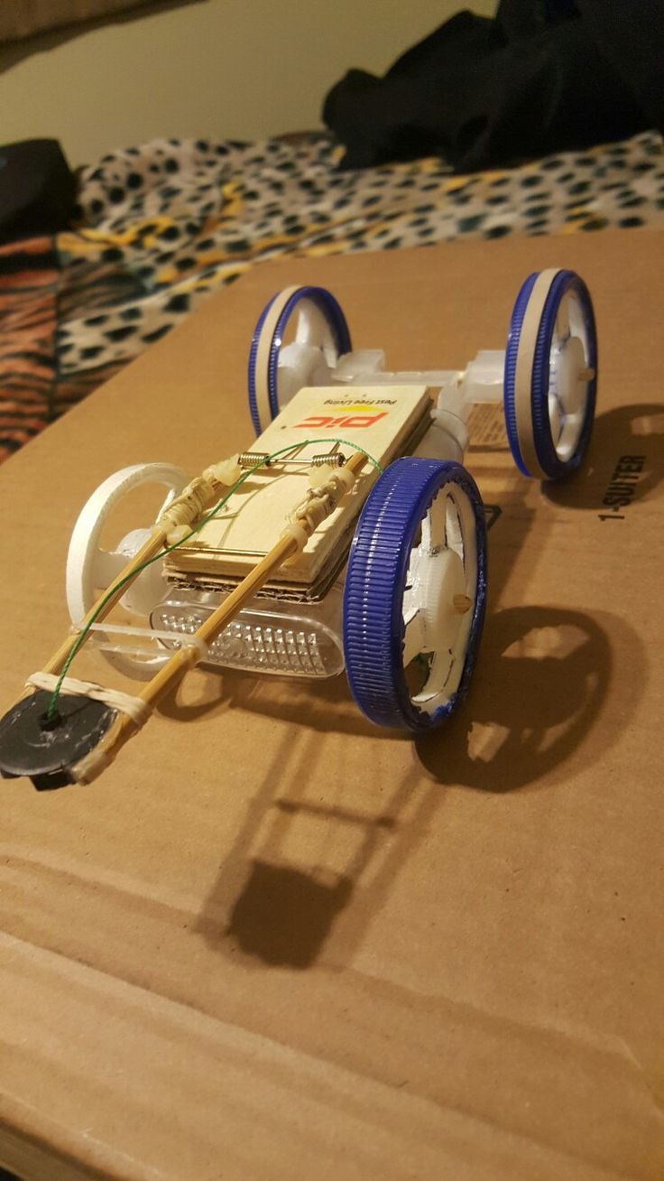Mousetrap car won t move - From Rpscience