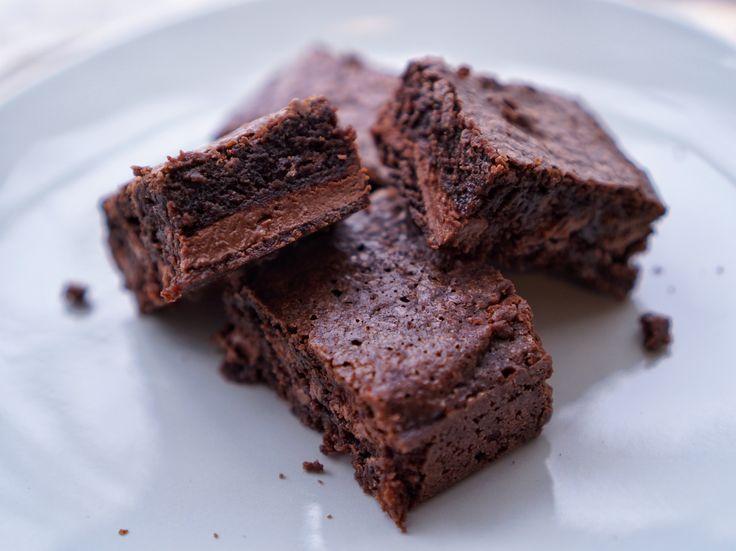 Nutella Brownies - BrowniesAzza