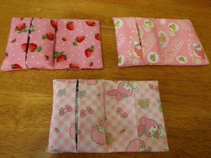 Has a video of how to make a tissue case. 集まれ!手芸部~ちょこっと手作りで暮らしをもっとワクワクに~-ポケットティッシュケースの作り方