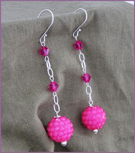 Disco Diva Earrings Project | Auntie's Beads