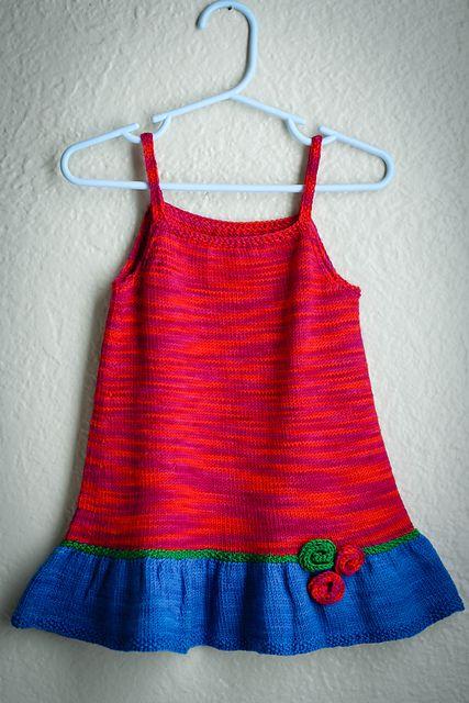 Ravelry: Summer Girl - fingering cotton pattern by Monika Sirna