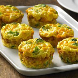 Crustless Mini Veggie Quiches