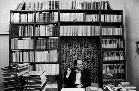 """Rather than exploring ideas, his books invoke spirits—of places, personalities..."" Andrea Lee on Roberto Calasso: http://nyr.kr/SXMHNP (Photograph by Ferdinando Scianna/Magnum.)"