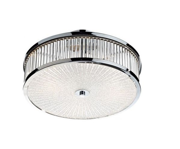 Super stylish and effortlessly elegant this flush ceiling light has a spectacular construction which makes for