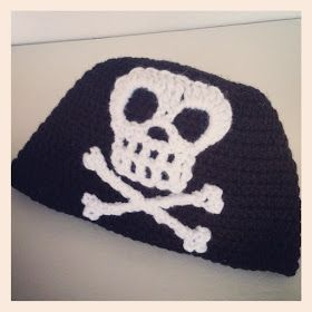 Last week, my oldest son requested I crochet him a pirate beanie. Really? A pirate beanie? Yikes! I wasn't sure my skills were quite u...