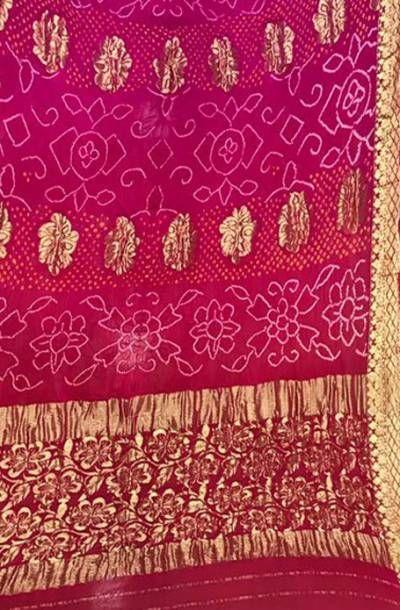 Buy Purple Handloom Banarasi Bandhani Pure Georgette Dupatta-/LWBNDKJ209_Purple_Handloom_Banarasi_Bandhani_Pure_Georgette_Dupatta.jpg
