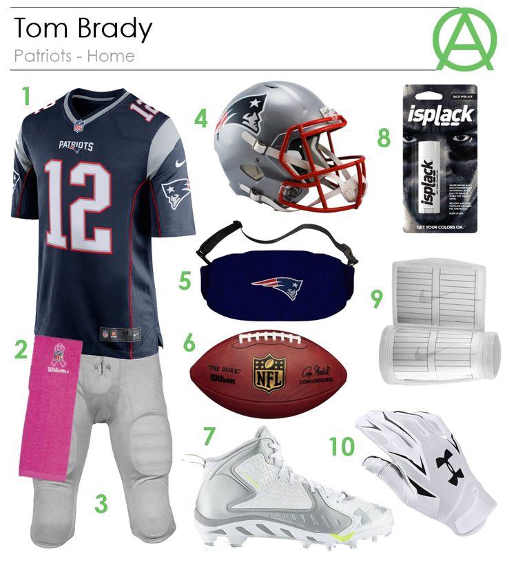 Tom Brady Patriots - Home Outfit