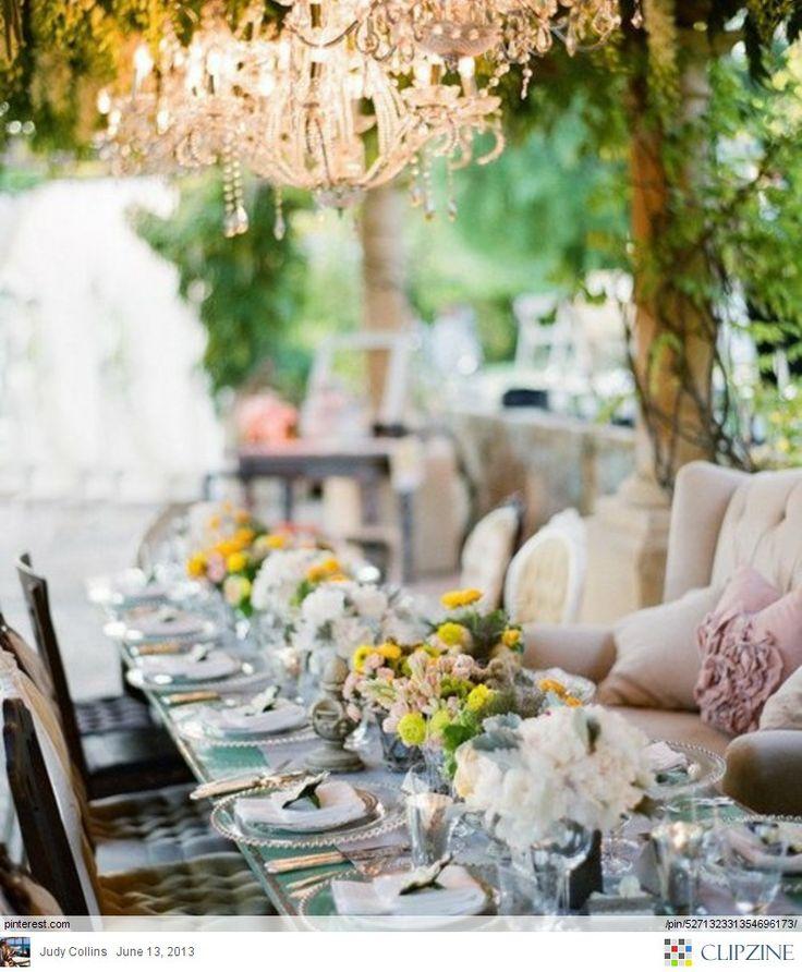 Wedding Ideas And Inspirations: 114 Best Garden Wedding Inspiration Images On Pinterest