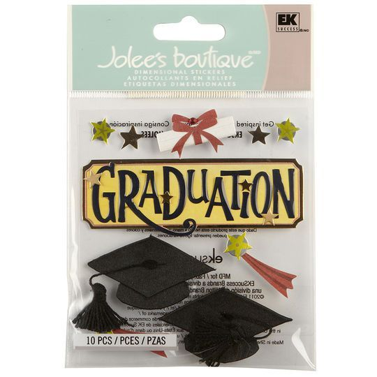Jolee's Boutique Graduation Word Stickers